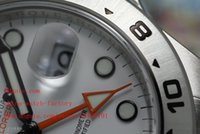 whites gmt - Luxury Top Quality JF Factory Maker GMT mm White Dial Swiss ETA Movement Automatic Mens Watch Men s Watches