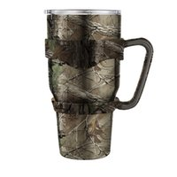 Wholesale ups SF_EXPRESS Yeti Cup Handle camouflage color army style OZ RTIC cup holder for