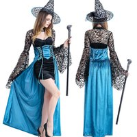 beauty woman photo - 2016 the new ribbon bow perspective horn sleeve sexy bead secret love Christmas Halloween photo witch costume role playing