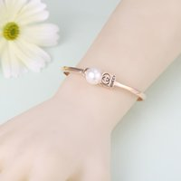 bangle manufacturers - 2016 of the latest fashion styles jewelry pearl bracelet color allergy anti fatigue effect Care accessories manufacturers stainl