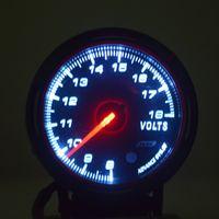 autogauge gauges - HOT NEW Universal Car Autogauge Voltage Volts PSI Pressure Vacuum Gauge Meter LED New