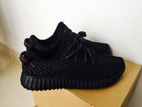 Cheap air yeezy boost 350negra 2016 pirate black Running Sports Yeezy 350 Boos Shoes Men Women Low Fashion Shoes Sneakers With Box