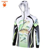 Wholesale Men Women Hiking climbing Anti UV Breathable Quick drying Professional Clothes Digital Printing Fishing Sweatshirts S XL