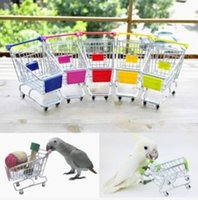 Wholesale Parrot Toy Bird Supermarket Shopping Cart Kids Growth Box Your Best Choice Good Helper