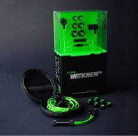 bass pro games - Razer Hammerhead Pro Earphone with Michael Hammer game for LOL DOTA2 CF stereo earphone bass and other large game