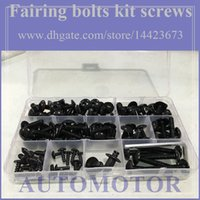 Wholesale Fairing bolts full screw kit For YAMAHA FJR1300 FJR FJR A233 Body Nut Nuts bolt screws