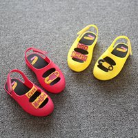 baby rock stars - MINI Melissa ROCK STAR Kids Shoes Summer Toddler sandals Cute Baby Shoes High Quality pairs per