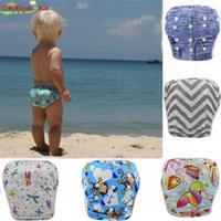 Wholesale aby Swim Diaper Pant Washable Reusable One Size Breathable Cover Reusable Pants Infant Toddler Nappy Years