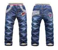 baby clothes importers - DKZ170 children clothing importers KK Rabbit new thick winter warm roupas infantis menina baby jeans retail