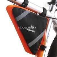 Wholesale New Bicycle Bike Bag Front Frame Head Pipe Triangle Bag Pouch H8283 Freeshipping Dropshipping Accessories