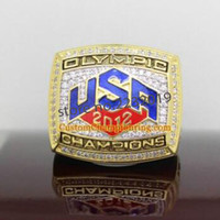 american basketball olympics - Hot Selling Sports Jewelry USA Olympics Basketball Team Championship Ring Ring of LeBron James