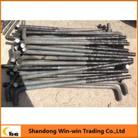 Wholesale L Type Carbon steel Fastener Anchor Bolts for sale