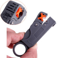 Wholesale Rotary Coaxial Cable Wire Stripping Stripper Cutter Stripper for RG59 Network Tool Computer Networking Drop Shipping
