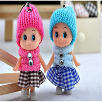 baby kids pendants - 2016 new Kids Toys Dolls Soft Interactive Baby Dolls Toy Mini Doll For Girls High quality cheap gift