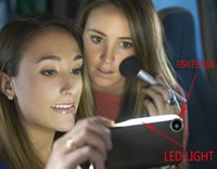 Cheap LED Light Up Your Face Selfie Phone Case for iPhone 6 6s Luminous Phone Cover With Fish Eye Lens