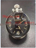 Wholesale High quality Luxury PAM Days Table Clock Watch KW Factory P5000 Movement Box Papers Black Silver Rose Gold Yellow Gold Hot Styl