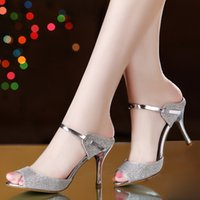 Stiletto Heel belle heels - West belle the word fine summer with sandals heels fine temperament with silver shoes fish mouth