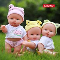 Wholesale realistic silicone doll Reborn Baby Doll Soft Vinyl Silicone Lifelike Newborn Baby Kids Girl Gift Toys