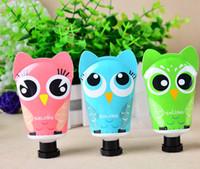 Wholesale brand new deep moisturizing nourishing rose owl hand cream colors free DHL shipping