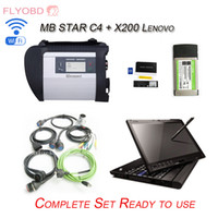 best notebook hdd - Best quality MB Star C4 SD Connect with HDD SSD Xentry Diagnosis Multiplexer Diagnostic Tool X200t notebook GB RAM
