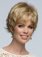 afro hair cuts - Good Quality Short Wigs for Black Women Pixie Cut Brown Blonde Cheap Afro Full African American Realistic Synthetic Hair