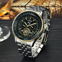 high end watches - High end MCE Tourbillon Mechanical Watches Automatic Stainless Steel Mechanical Watches Business Watch For Men Drop Shipping DHL Free