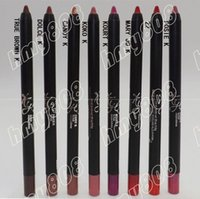 Wholesale Hot NEW MAKEUP Gel Multifunction Pencil Matte Lip Liner Eyeshadow Eyeliner Pencil Different Colors g