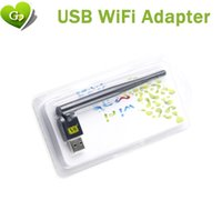 Wholesale 150m usb wifi with antenna wireless wifi adapter use for Freesat V7 V8