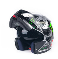 Wholesale New Arrivals VOX moto Flip Up Motorcycle Modular Helmet With Inner Sun Visor safety double lens racing motos casco capacete