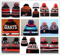 animals san francisco - Hot San Francisco Giants Beanies Winter Warm On Field SF Baseball Beanie For Men Women Embroidered Team logo Knit Wool Hat