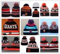 beach sf - Hot San Francisco Giants Beanies Winter Warm On Field SF Baseball Beanie For Men Women Embroidered Team logo Knit Wool Hat