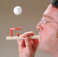 venda por atacado toys wooden toys-Brinquedos Bebê Schylling de madeira flutuante jogo de bola Brinquedos de madeira lustrosa versão presente de aniversário para crianças Balões educacionais