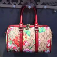 bag dye - 2016THE new printed bag pillow bag leather handbag fashionable woman bag