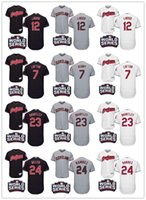 Wholesale 2016 World Series Patch Cleveland Indians Baseball Jerseys Kenny Lofton Francisco Lindor Jason Kipnis Brantley Andrew Miller