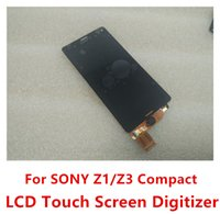best mini bar - High Quality Best Price LCD Touch Screen Digitizer Replacement Parts For SONY Xperia Z1 Z3 Compact z3 mini D5803 D5833