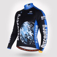 Wholesale Polyester Cycling Jersey Riding Clothes to Keep Warm And Long Sleeved Bicycle Sportwear And Winter Bike Clothing