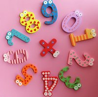 Wholesale 1 Set hot sale Numbers Fridge Magnet Baby Children Educational Refrigerator Magnets Home Decor Stickers