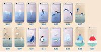 Cheap For Apple iPhone Raindrop case Best Clear Transparent Blue sea pattern