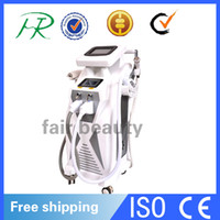 Wholesale 2016 HOT SALE in OPT SHR Hair Removal RF Skin Rejuvenation YAG Laser Tatoo Removal Machine Sytem