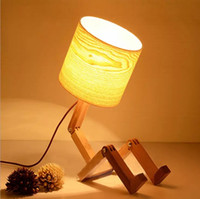 Wholesale Europe type desk lamp bedroom the head of a bed Creative dimmer energy saving contracted and contemporary small night light warm light The N