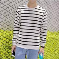 Wholesale Long sleeved Thin sports jacket autumn paragraph hedging sweater Japanese Korean alphabet space cotton baseball uniform