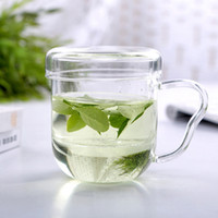 art teapots - Hot sale glass tea cups with infuser heat resistant teapot set three pieces drinking glass cups