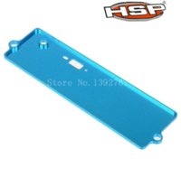 battery powered electric cars - HSP Upgrade Parts122064 Alloy Battery Case Top Cover th WD RC Car XSTR Power Himoto Red Cat