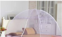 Wholesale Lace Net Foldaway Mosquito Net Bed Canopy for Sleep Night Mosquito Hot Olympic Full Bi parting M