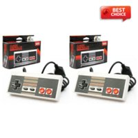 Wholesale 2 NEW For TTX CLASSIC CONTROLLERS FOR NINTENDO NES BIT SYSTEM CONSOLE CONTROL PAD control capture