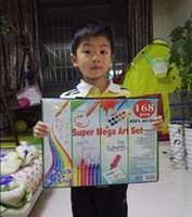 Wholesale Stationery Sets crayon watercolor pen crayon oil pastel color pencil kid children gift
