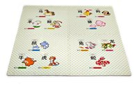 Wholesale 2016 New Baby Play Mats Animals Soft Developing Crawling Rugs EVA Puzzle Mats For Baby Games