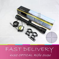 air soft snipers - New X32 Hunting Tactical Rifle Optic Scope Sight Air Soft outdoor Optics Sniper Deer Scope mm Rail Mounts
