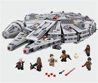 Wholesale Star Wars Millennium Falcon Outer Space Space Ship Building Blocks Model Toys