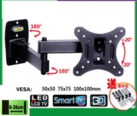 Wholesale 10 inch LCD LED Monitor Holder TV Wall Mount Full Motion Swivel Tilt Bracket Swing Arm